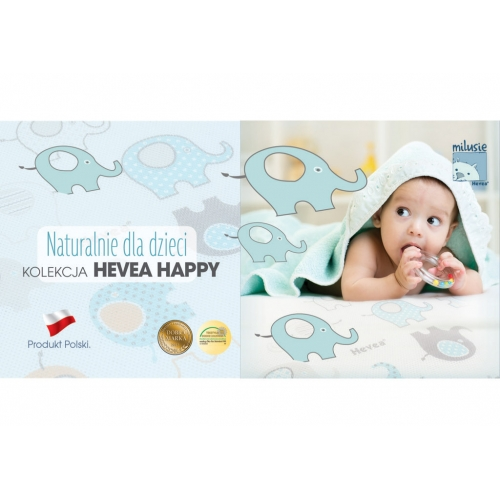 MATA HEVEA HAPPY BABY 140X70