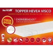 HEVEA TOPPER VISCO 200x120