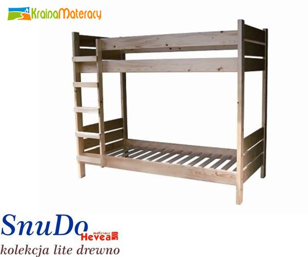 łóżko Piętrowe Snudo 200x80 Kraina Materacy